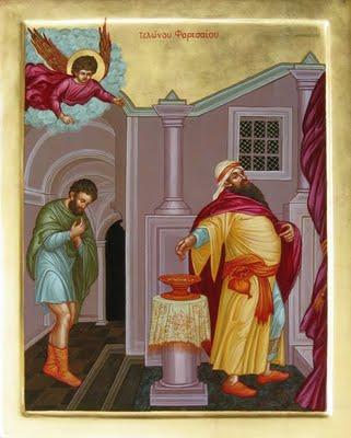 Pab xav txog lub ntsiab hauv tej zaj nyeem Pharisee-and-tax-collector1